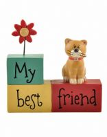My Best Friend Cute Cat Ornament